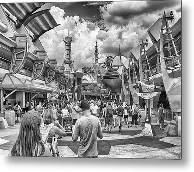 Metal Print featuring the photograph Tomorrowland by Howard Salmon