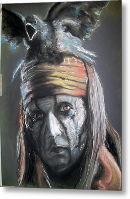 Tonto Metal Print by Peter Suhocke