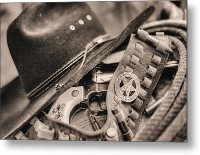 Tools Of The Trade  Metal Print by JC Findley