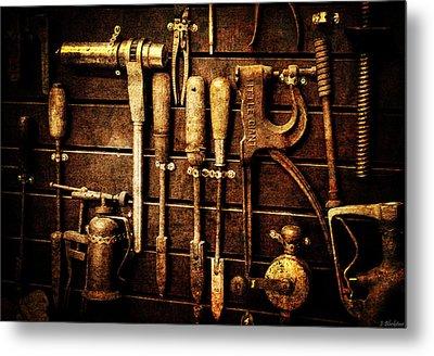 Tools Of The Trade Metal Print by Jordan Blackstone