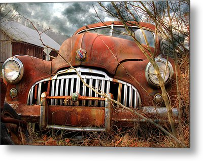 Toothless Metal Print by Lori Deiter