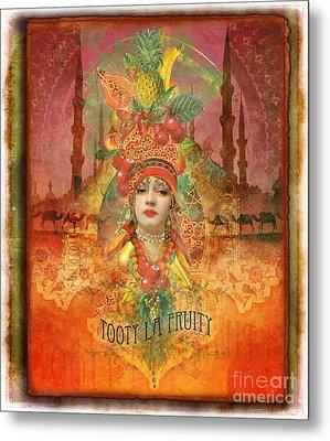 Tooty La Fruity Metal Print by Aimee Stewart