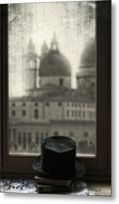 Top Hat Metal Print by Joana Kruse