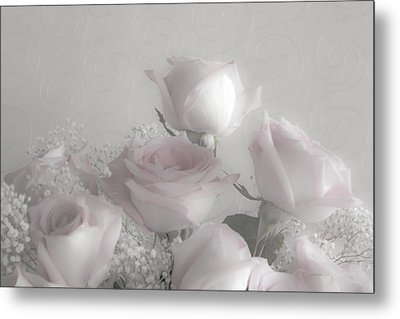 Top Of My Bouquet Metal Print by Sandra Foster