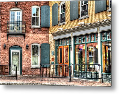 Top Of Railroad Street - Great Barrington Metal Print