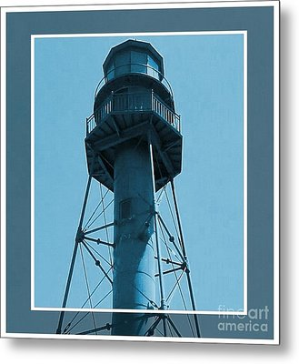 Metal Print featuring the photograph Top Of Sanibel Island Lighthouse by Janette Boyd