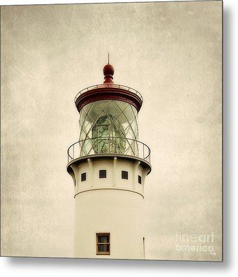 Top Of The Lighthouse Metal Print by Scott Pellegrin