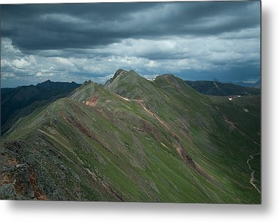 Metal Print featuring the photograph Top Of The World by Jay Stockhaus
