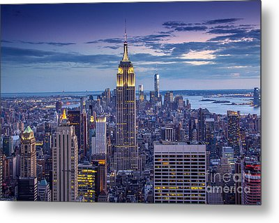 Top Of The World Metal Print by Marco Crupi