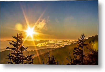 Top Of The World Metal Print by Rob Sellers