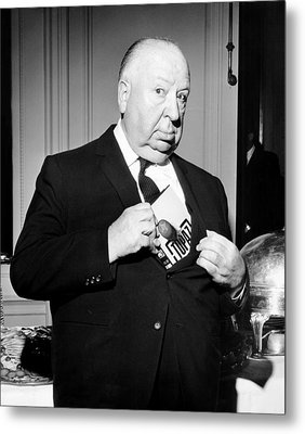 Topaz, Director Alfred Hitchcock Metal Print by Everett
