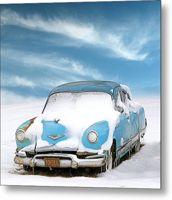 Topeka Blues Metal Print by Christopher McKenzie