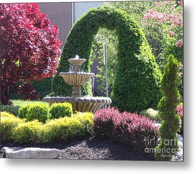 Metal Print featuring the photograph Topiary Garden by Lyric Lucas