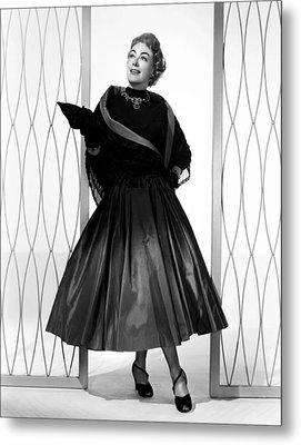 Torch Song, Joan Crawford, In A Gown Metal Print