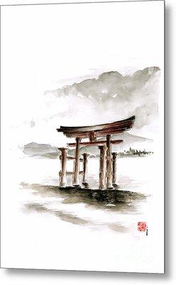 Torii Gate Metal Print