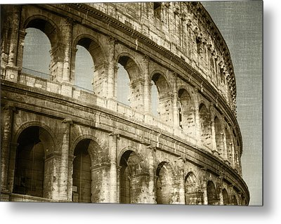 Torn From The Pages Metal Print by Joan Carroll