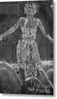 Torn Poster No. 1 Metal Print by Dave Gordon