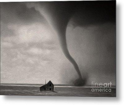 Tornado Metal Print by Gregory Dyer
