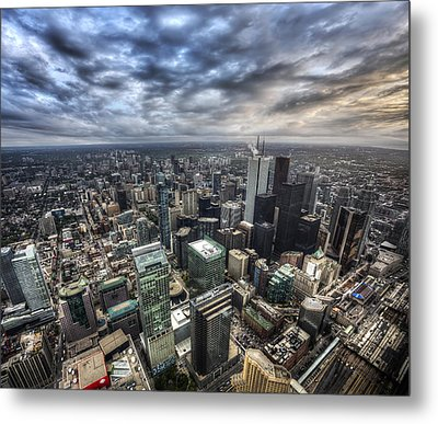 Metal Print featuring the photograph Toronto Daybreak by Shawn Everhart