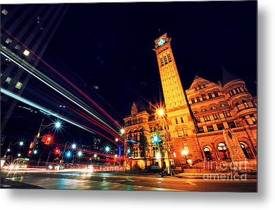 Toronto Old City Hall Metal Print by Charline Xia