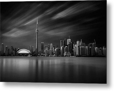 Toronto Skyline - 8 Minutes In Toronto Metal Print