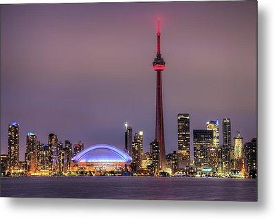 Toronto Skyline Metal Print by Shawn Everhart