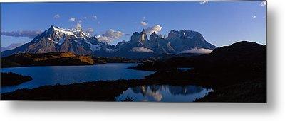 Torres Del Paine, Patagonia, Chile Metal Print by Panoramic Images