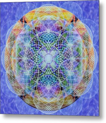 Torusphere Synthesis Interdimensioning Soulin Iv Metal Print