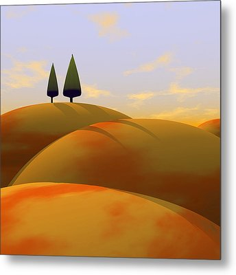 Toscana 1 Metal Print by Cynthia Decker
