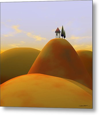 Toscana 2 Metal Print by Cynthia Decker