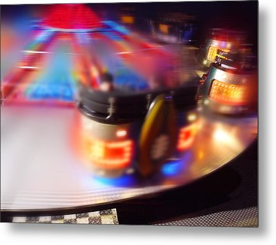 Touch Down Metal Print by Charles Stuart