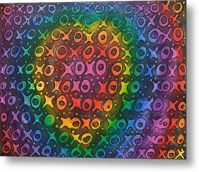 Touch My Heart Metal Print