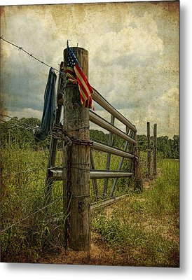 Touch Of Americana Metal Print