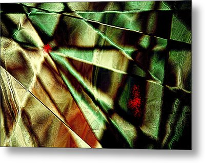 Touch Of Red Metal Print by Paula Ayers