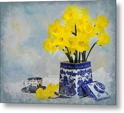 Touch Of Spring Metal Print by Trudy Wilkerson