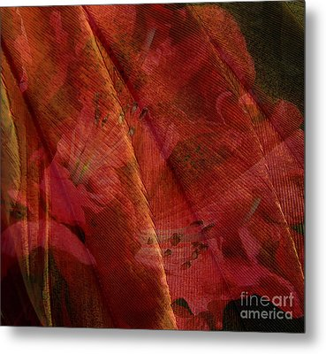 Metal Print featuring the photograph Touch Of The Orient by Liz  Alderdice