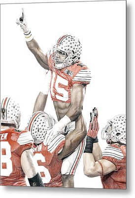 Touchdown Metal Print by Bobby Shaw