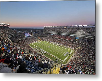 Touchdown New England Patriots  Metal Print