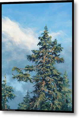 Touching The Sky Metal Print by Diana Moses Botkin