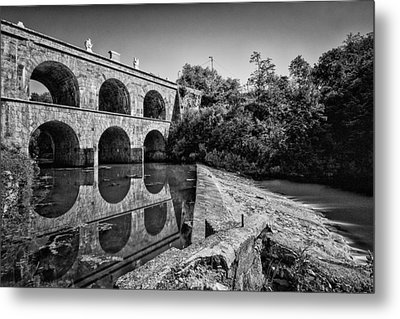 Tounj Bridge Metal Print by Davorin Mance