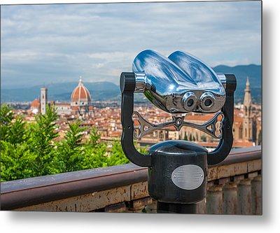Touristic Florence Metal Print