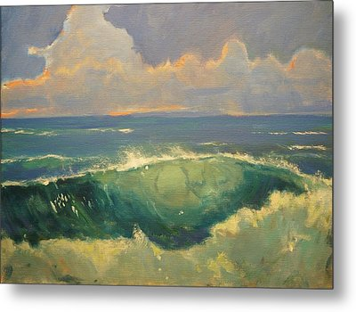 Tourmaline Surf Metal Print by Jim Noel