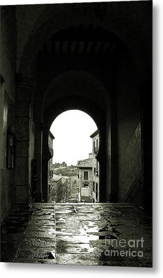 Towards Freedom Metal Print by Syed Aqueel
