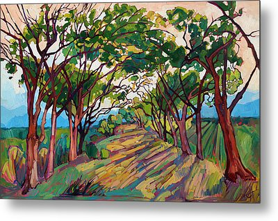 Towards Griffith Metal Print by Erin Hanson