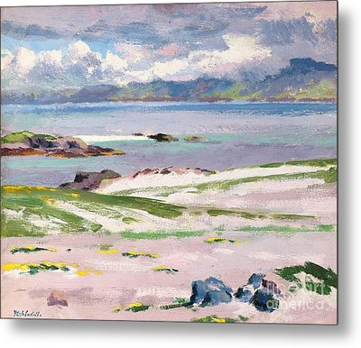 Towards Mull From Choc Ard Anraidh Metal Print by Francis Campbell Boileau Cadell