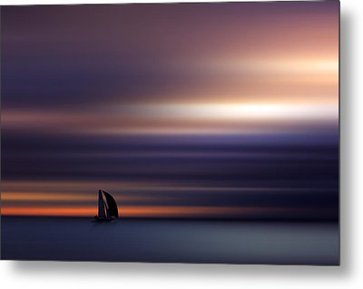 Towards The Light Metal Print by Marek Czaja