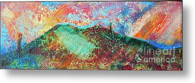 Towards The Sea Metal Print