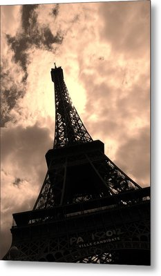 Tower And The Sky Metal Print by Cleaster Cotton