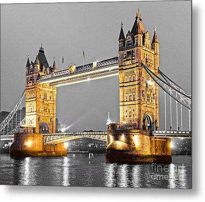 Tower Bridge - London - Uk Metal Print