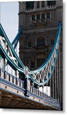 Tower Bridge 03 Metal Print